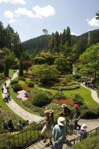 Butchart Gardens, BC, Canada