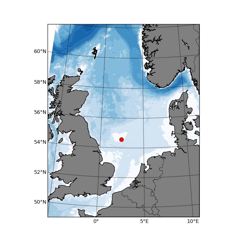 Create maps using Etopo1 and matplotlib | Trond Kristiansen